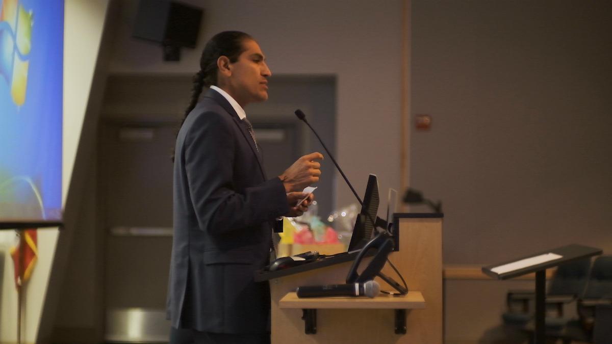 Camarena Health Youth Conference Dr Jesus Rodriguez